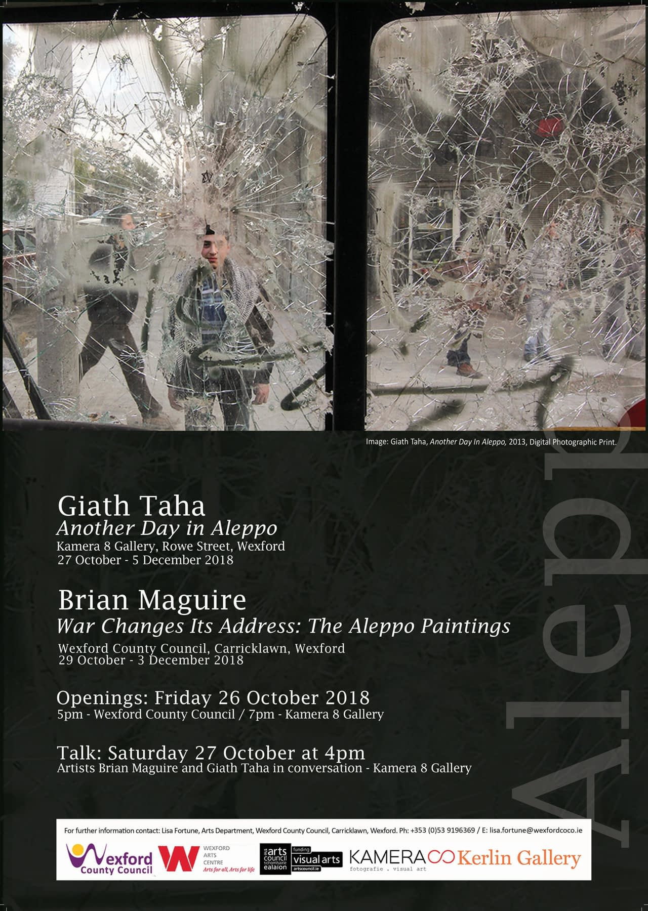 Giath Taha - Another Day in Aleppo - KAMERA 8 Exhibition